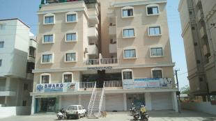 Elevation of real estate project Shreenath Plaza located at Sevasi, Vadodara, Gujarat