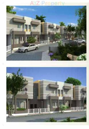 Elevation of real estate project Shubh Residency 1 located at Ratanpur, Vadodara, Gujarat