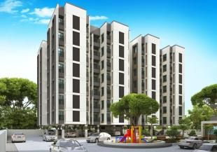 Elevation of real estate project Shubh Residency located at Makarpura, Vadodara, Gujarat