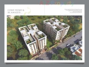 Elevation of real estate project Shyama Residency located at Kasba, Vadodara, Gujarat