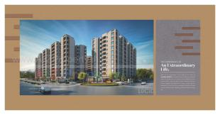 Elevation of real estate project Shyamal Heights located at Ankhol, Vadodara, Gujarat
