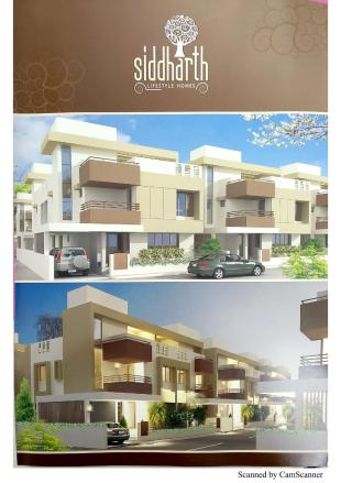 Elevation of real estate project Siddharth Lifestyle Homes located at Harni, Vadodara, Gujarat