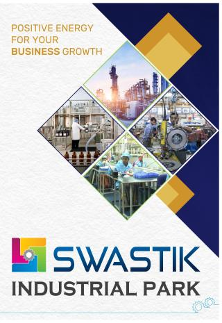 Elevation of real estate project Swastik Industrial Park located at Bamangam, Vadodara, Gujarat
