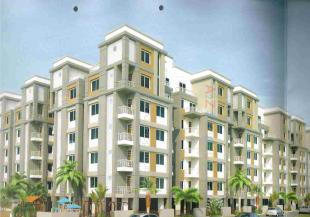 Elevation of real estate project The Emerald located at Bhayli, Vadodara, Gujarat