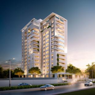 Elevation of real estate project The Landmark located at Harni, Vadodara, Gujarat