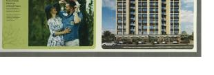 Elevation of real estate project The Residence Ii located at Sevasi, Vadodara, Gujarat