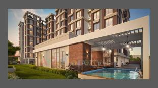Elevation of real estate project The Residence Iii located at Sevasi, Vadodara, Gujarat