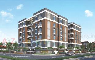 Elevation of real estate project Tulsi Shyam located at Vasna, Vadodara, Gujarat