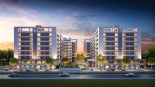 Elevation of real estate project Ultima Life Style located at Bapod, Vadodara, Gujarat