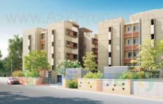 Elevation of real estate project Vallabh Residency located at Savad, Vadodara, Gujarat
