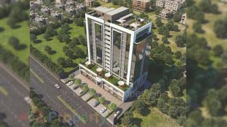 Elevation of real estate project Vihav Supremus located at Gotri, Vadodara, Gujarat