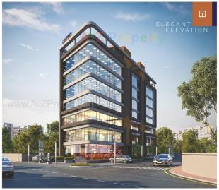 Elevation of real estate project Wealth Square located at Gotri, Vadodara, Gujarat