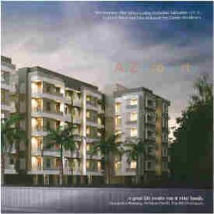 Elevation of real estate project Zainee Residency located at Sayajipura, Vadodara, Gujarat