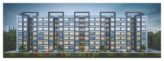 Elevation of real estate project Zillion Sparsh located at Tarsali, Vadodara, Gujarat